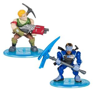 FIGURINE - PERSONNAGE FORTNITE Battle Royale - Pack Duo Figurines 5cm -