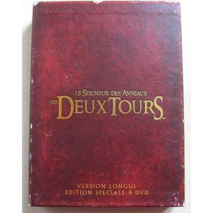 DVD FILM Le Seigneur des Anneaux II, Les Deux Tours [Versio