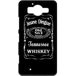 COQUE - BUMPER Coque microsoft lumia 950 jeune dingue whisky