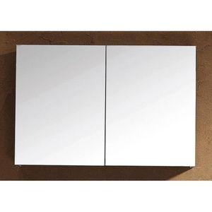 ARMOIRE DE TOILETTE Armoire de toilette de base 90x62cm anthracite ...