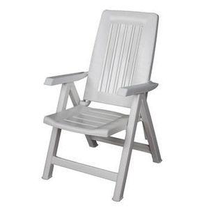 Chaise jardin plastique pliante - Achat / Vente pas cher