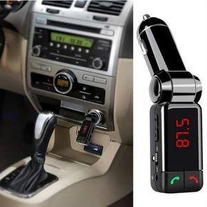 TRANSMETTEUR FM Bluetooth FM de voiture Transmetteur voiture lecte