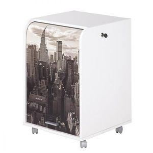 CAISSON DE BUREAU  Caisson de bureau 2 tiroirs New York Contemporain