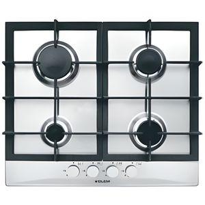 plaque de cuisson a gaz avec grille fonte inox achat vente plaque de cuisson a gaz avec. Black Bedroom Furniture Sets. Home Design Ideas