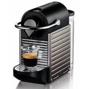 MACHINE À CAFÉ KRUPS XN3005 Pixie Titanium