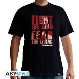 T-SHIRT T-shirt Homme The Walking Dead : Fight The Dead -