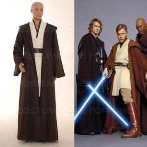 DÉGUISEMENT - PANOPLIE 5pcs Star Wars Obi-Wan Kenobi Jedi  TUNIQUE Costum