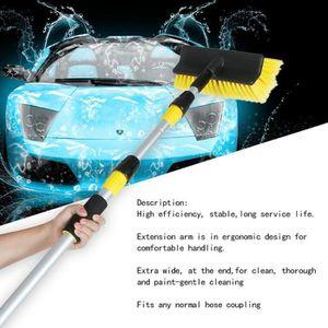 BROSSE - RACLETTE 3m Brosse de lavage de voiture télescopique
