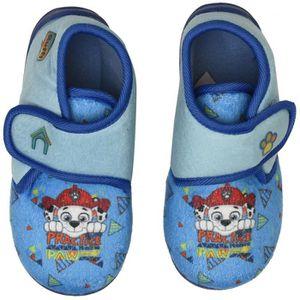 CHAUSSON - PANTOUFLE PAT'PATROUILLE Chaussons à Scratch Bleu Enfant Gar