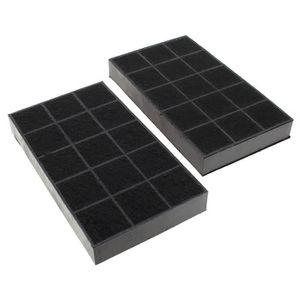 FILTRE POUR HOTTE Filtre charbon 235x133 par 2 pour Hotte De dietric