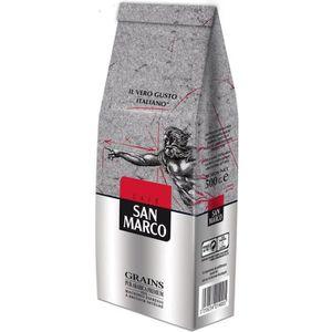 CAFÉ - CHICORÉE SAN MARCO Café en Grains - 500 g