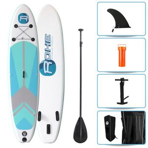 STAND UP PADDLE ROHE Pack Paddle Gonflable Indiana Green 10'6(320c