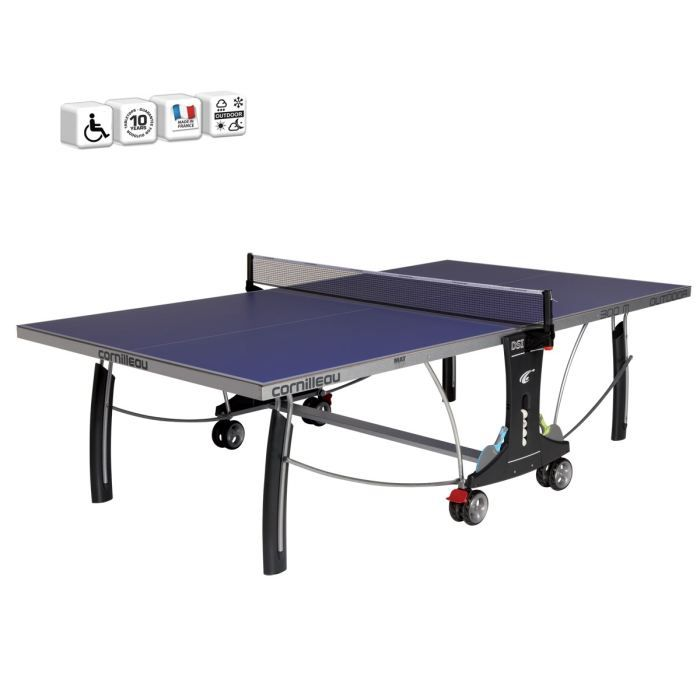 CORNILLEAU Table de Ping Pong SPORT 300 S OUTDOOR - Prix pas cher ... 370a21b27adf