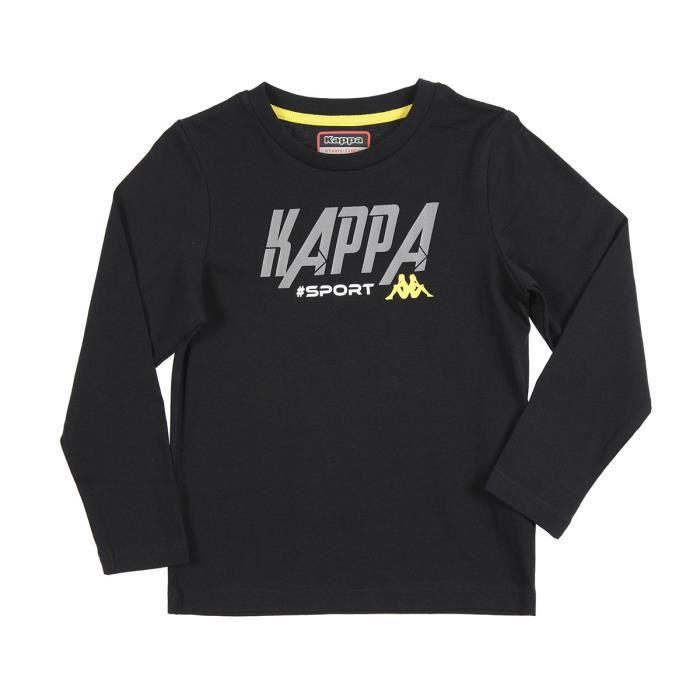 KAPPA T-shirt Martial - Enfant - Noir