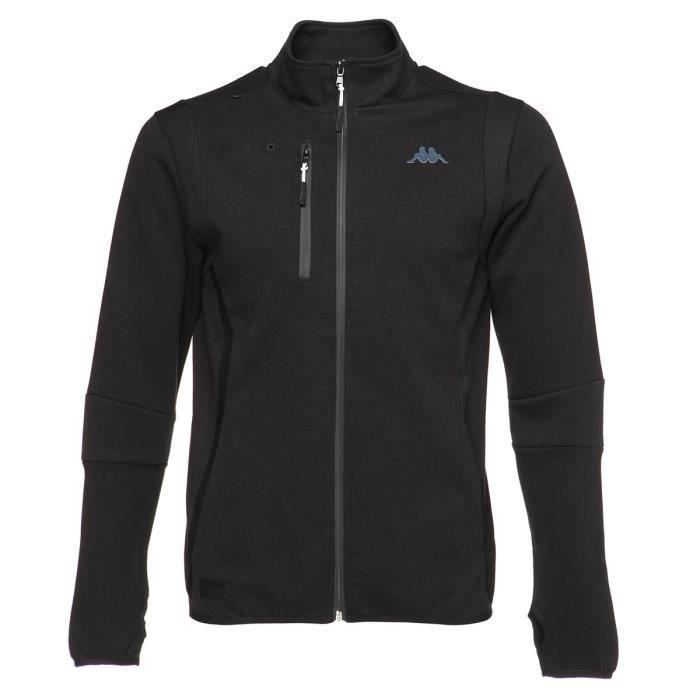 KAPPA Sweat-shirt Stefano - Homme - Noir