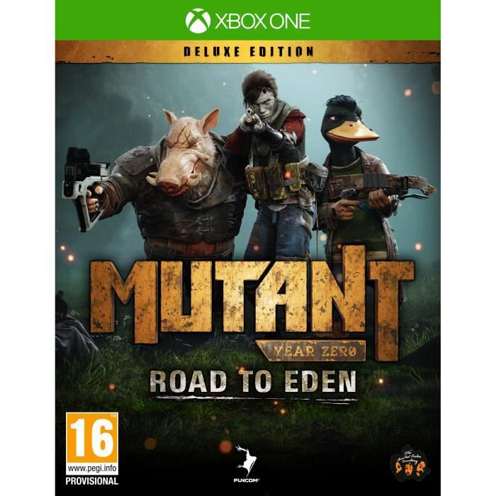 Mutant Year Zero Road to Eden Deluxe Edition Jeu Xbox One