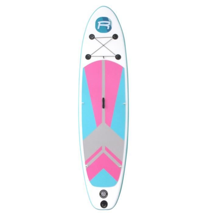 ROHE Paddle Gonflable Indiana Pink - 297x76x10cm - Sans accessoire