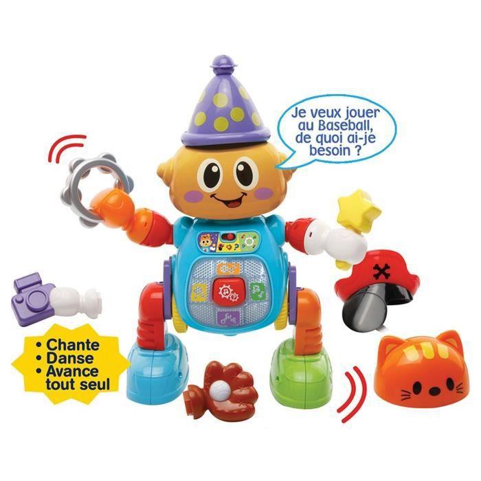 VTECH Un robot parlant, complètement délirant, qui avance en dansant ! Mixte - A partir de 2 ansROBOT MINIATURE - PERSONNAGE MINIATURE - ANIMAL ANIME MINIATURE