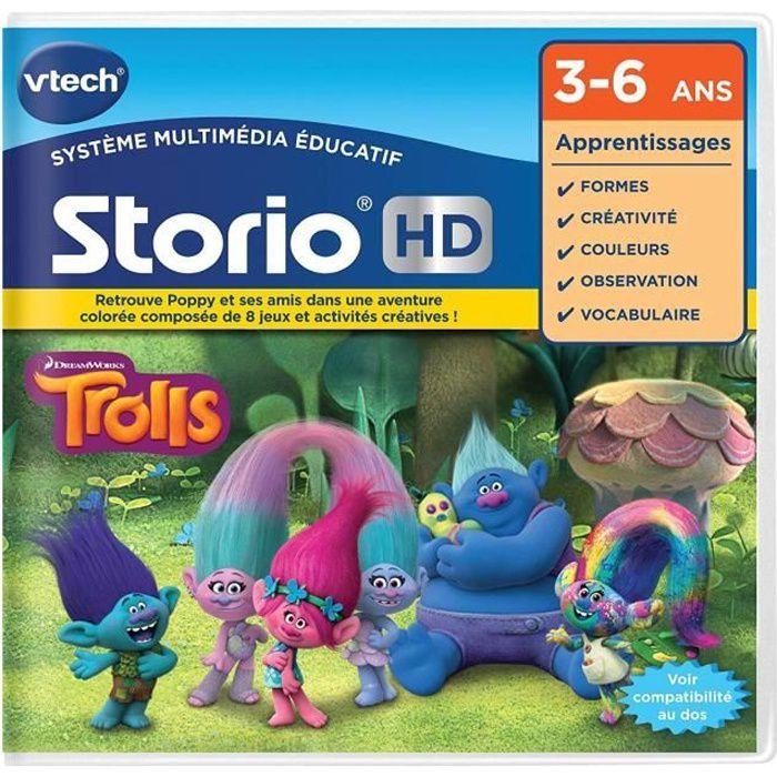 VTECH - Jeu Éducatif Storio - Trolls