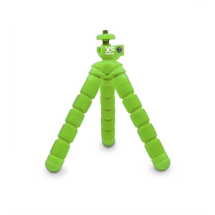 XSORIES Trépied articulé pour GoPro Mini Bendy - Vert