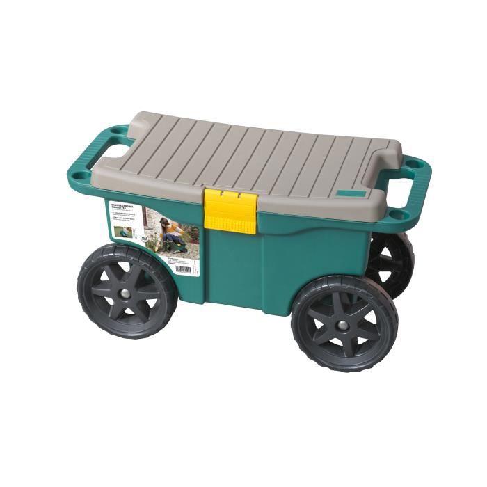 bac coffre roulettes vert achat vente agenouilloir jardinage bac coffre roulettes vert. Black Bedroom Furniture Sets. Home Design Ideas