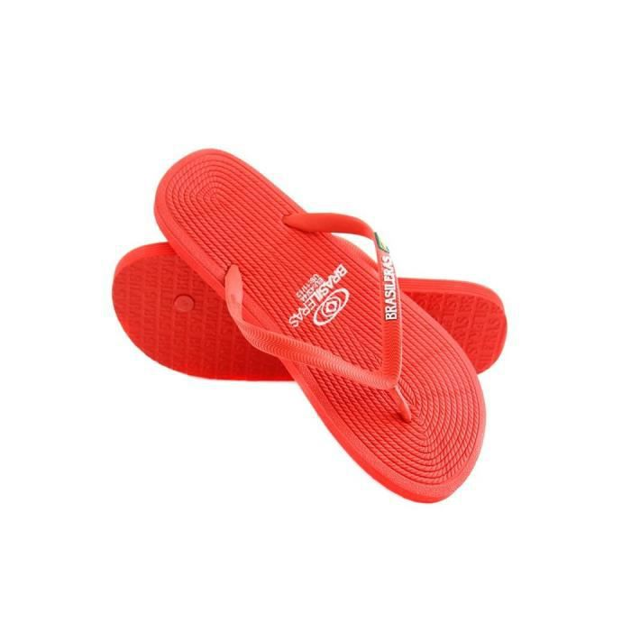 eb4d6c6822124f Tong fashion homme Brasileras ROP Rouge 43/44 - Achat / Vente tong ...