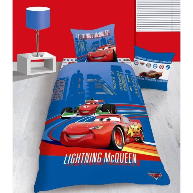 Housse De Couette Disney Cars Mega Racer 140 X Achat Vente