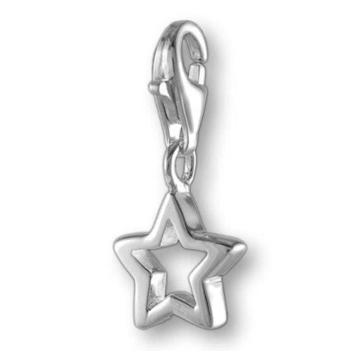 Melina Charms Pendentif étoiles Argent 925 QAZH2