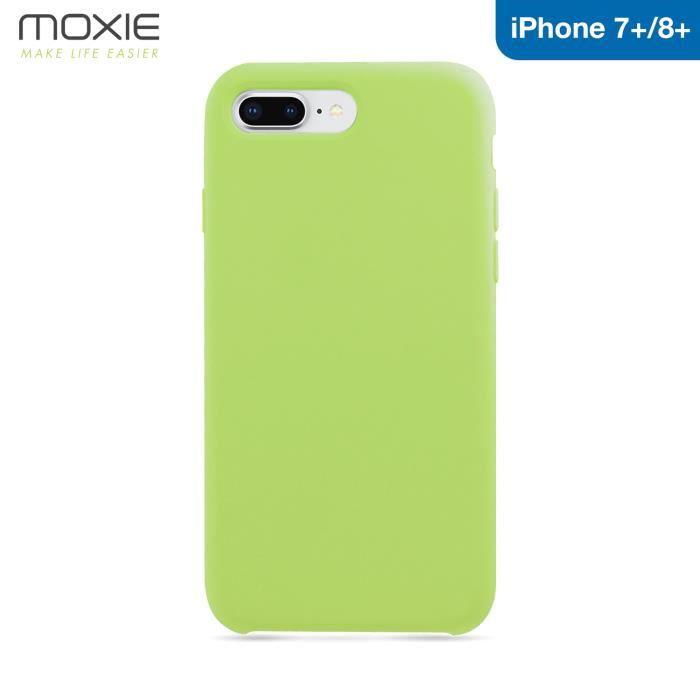 coque iphone 8 plus silicone fluo