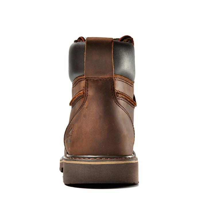 3d9097007992 BOTTINE Boots! Homme Adulte kp018Marron