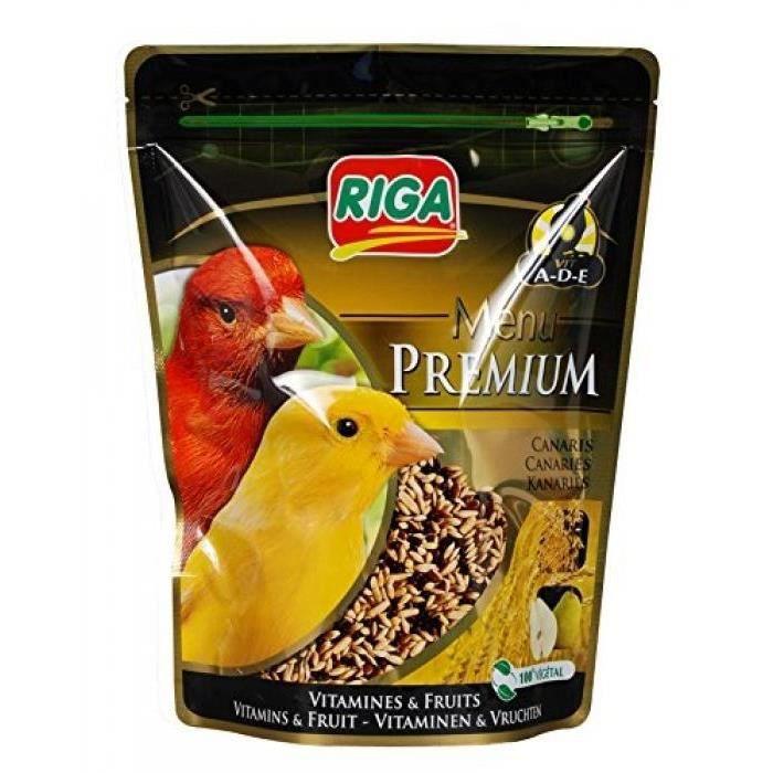 CROQUETTES RIGA Menu Premium Canaris Vitamines et Fruits - Do