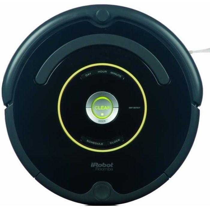 Irobot Roomba 650 - Aspirateur Robot - 33W - 61 Db - Noir - Achat