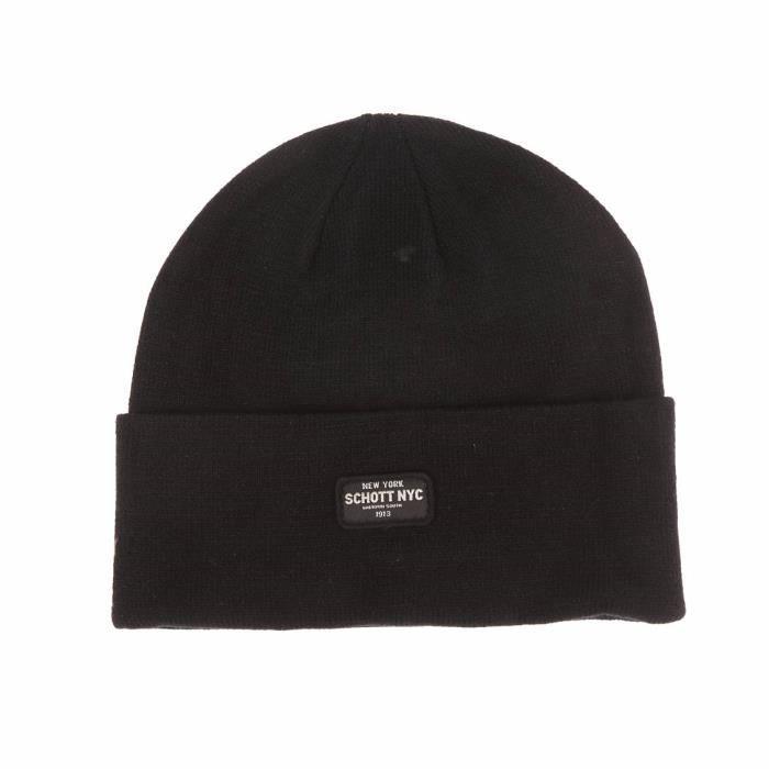 100% qualité garantie juste prix prix compétitif Schott NYC - echarpe, gants, bonnet - Achat / Vente bonnet ...