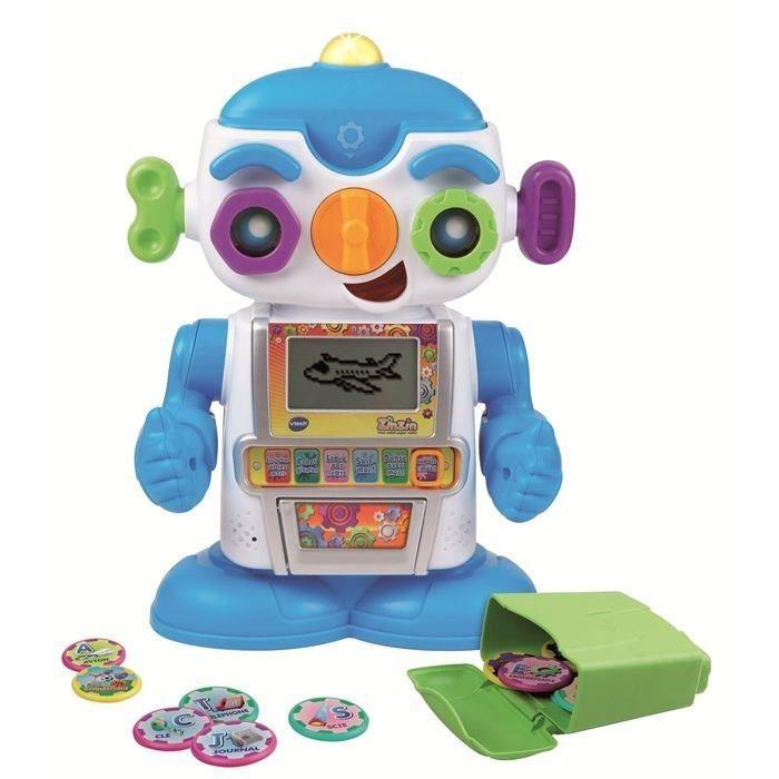 ROBOT - ANIMAL ANIMÉ VTECH Zinzin Mon Robot Super Malin