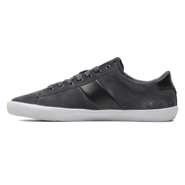 40 Pointure Leather Anthracite Deuce Chaussure Jim Lo Homme Basse Rickey Suede vxa7pUf