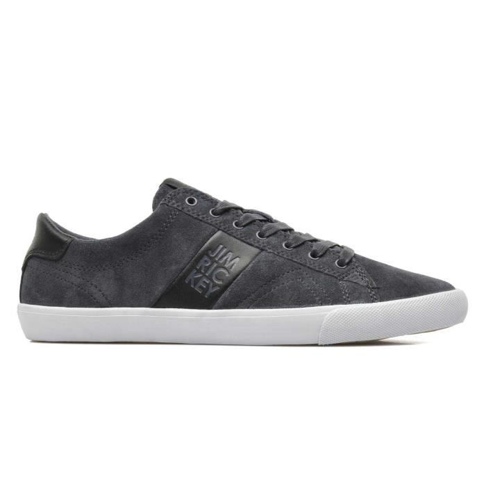 Chaussure Basse Jim Rickey Deuce Lo Suede Leather Anthracite Homme Pointure 40 BKXO3aAT