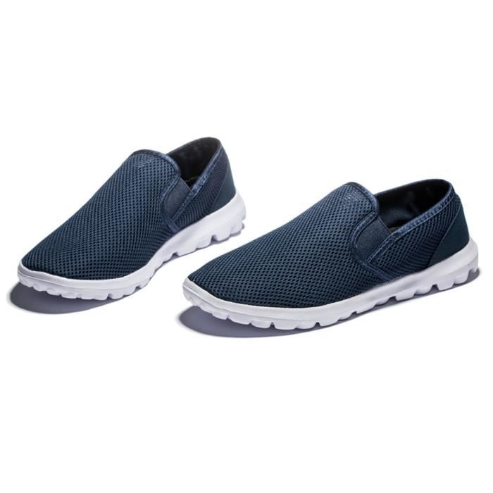 chaussures 47 casual Moccasin 2017 mocassin marque 40 de Taill nouvelle homme hommes chaussure Grande Respirant luxe ete Confortable qHwrOTEnH