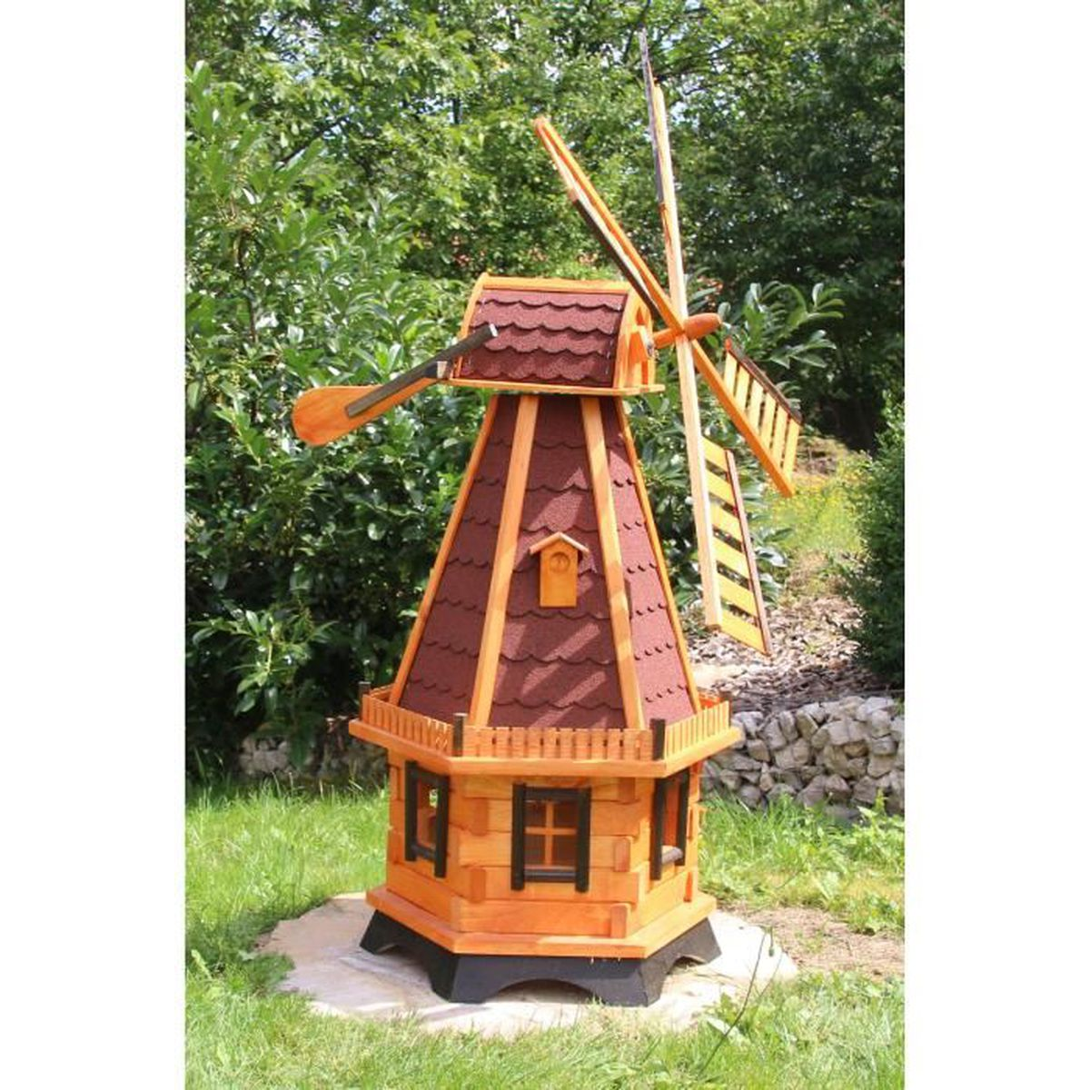 Moulin a vent pour jardin achat vente moulin a vent for Cloturer un jardin pas cher