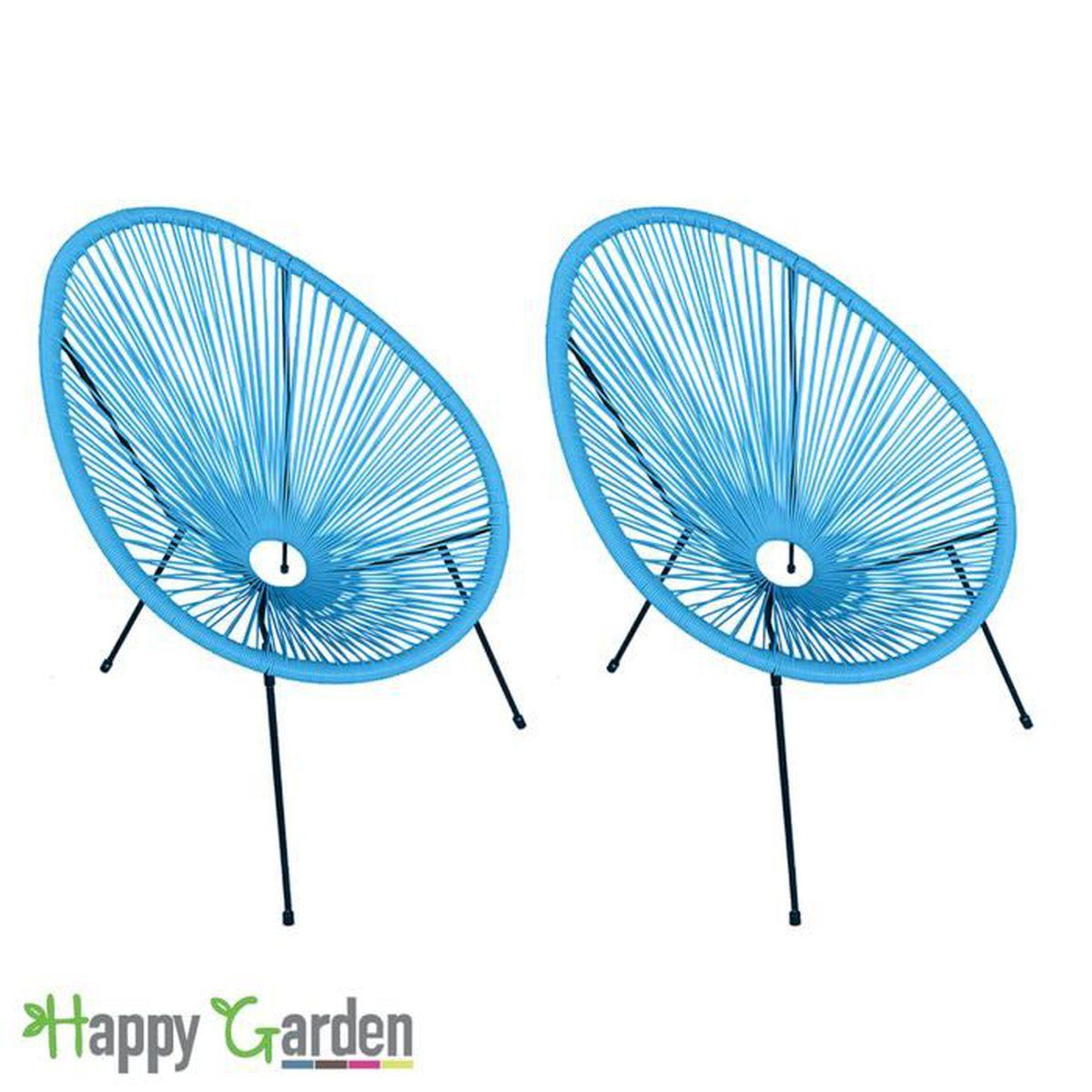 fauteuil de jardin acapulco achat vente fauteuil de jardin acapulco pas cher soldes d s. Black Bedroom Furniture Sets. Home Design Ideas