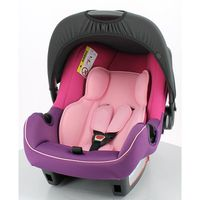 """SIEGE AUTO COSY """" BE ONE"""" ROSE FRAMBOISE Groupe 0+ ECER44/04 4* ADAC"""