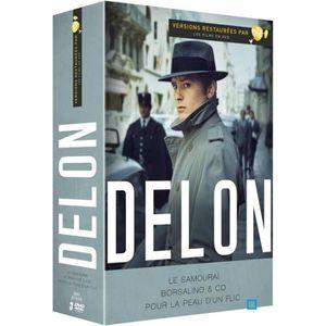 DVD FILM Coffret DVD ALAIN DELON - 3 DVD