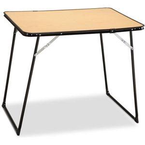 TABLE DE CAMPING EREDU Table Pliante camping 807/Ds - 80 x 60 cm -