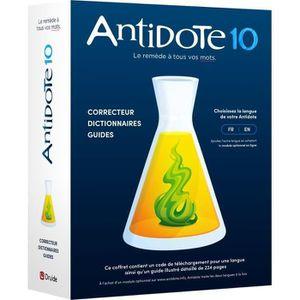 BUREAUTIQUE Antidote 10 - Correcteur, dictionnaires et guides
