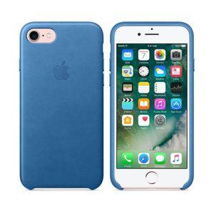 COQUE - BUMPER Apple Coque de protection Bleu de mer pour iPhone