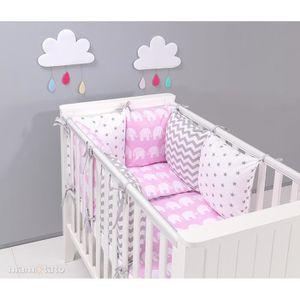 linge de lit bébé rose et gris Parure de lit bebe rose   Achat / Vente pas cher linge de lit bébé rose et gris