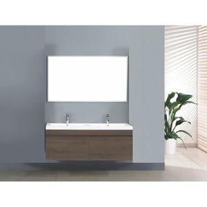 grand meuble salle de bain double vasque suspendu Résultat Supérieur 15 Superbe Meuble Salle De Bain Double Vasque Image 2017 Kdj5
