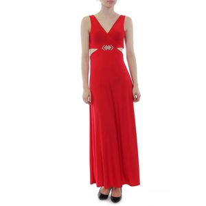 b989bad060 ROBE LONGUE ROUGE SEXY SOIREE TAILLE UNIQUE Rouge - Achat / Vente ...