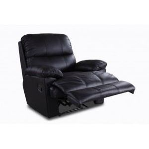 Fauteuil relax cuir Achat Vente Fauteuil relax cuir pas cher