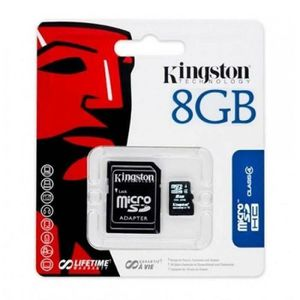 CARTE MÉMOIRE Kingston carte mémoire microsd sdhc 8 go ( classe
