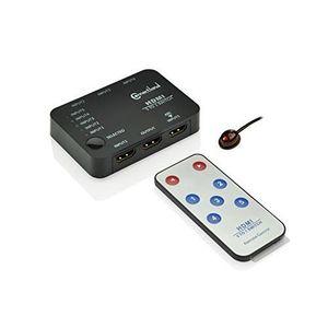 COMMUTATEUR KVM CONNECTLAND DS-HDMI-5P-501H COMMUTATEUR 1.4 AVE…